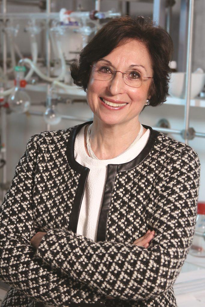 Francine Acher, Medicinal Chemist and Director of Research, Université de Paris (Image © Dassault Systèmes / Carlos Fetherstonhaugh)