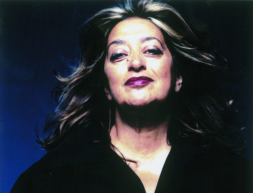 Architect Zaha Hadid's dynamic and unexpected designs have turned heads, fueled debate and earned her many international accolades, including two Stirling Prizes and the first Pritzker Prize in the competition's 33-year history to be awarded to a woman. (Photo by Steve Double)