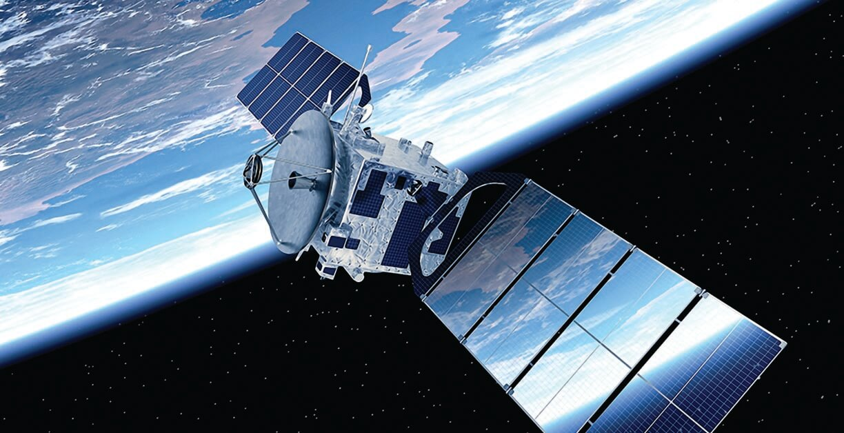 SpaceX is launching a constellation of low-Earth Starlink satellites to deliver broadband internet to consumers worldwide – just one example of how private firms are commercializing space. Initial plans call for 12,000 Starlink satellites, but SpaceX founder Elon Musk has said that number could grow  to 42,000 over the new few decades – 15 times the number of operational satellites already in orbit. Image © SpaceX)