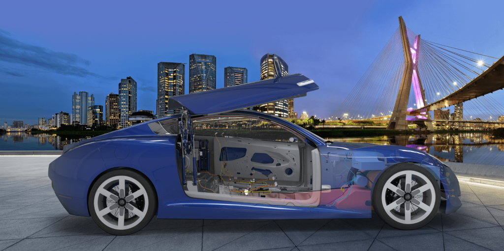 MBSE enables engineers from all disciplines to work together on a multi-disciplinary virtual prototype to simulate exactly how a product works before ever building or manufacturing a physical prototype. (image © Dassault  Systèmes)