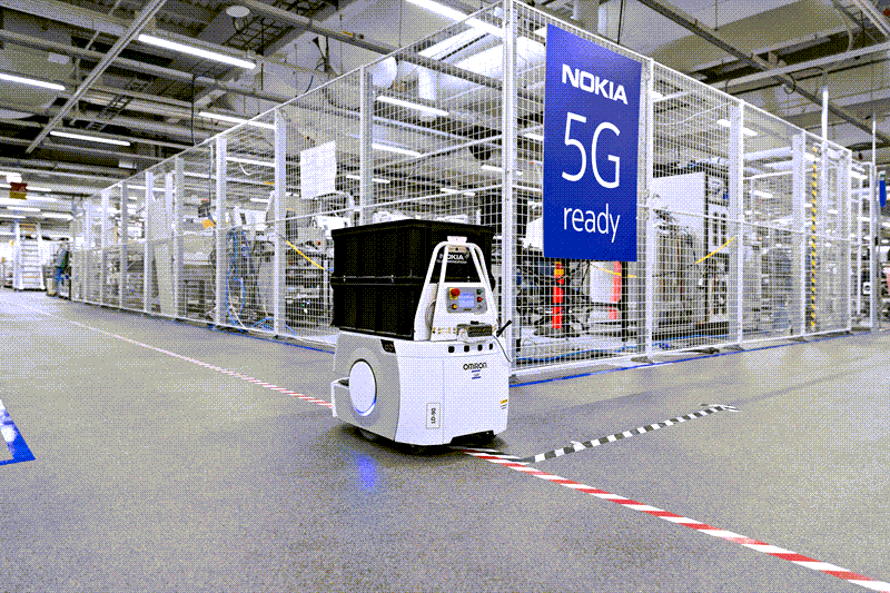 Nokia's Oulu smart factory is enabled with 5G (Image © Nokia)