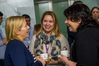 Grant Thornton International is a company that puts supporting women in the workplace as part of their DNA, including both women and men in the discussions. (Image courtesy of Grant Thornton International)